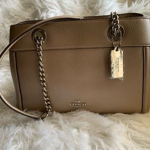 Coach brooke chain carryall